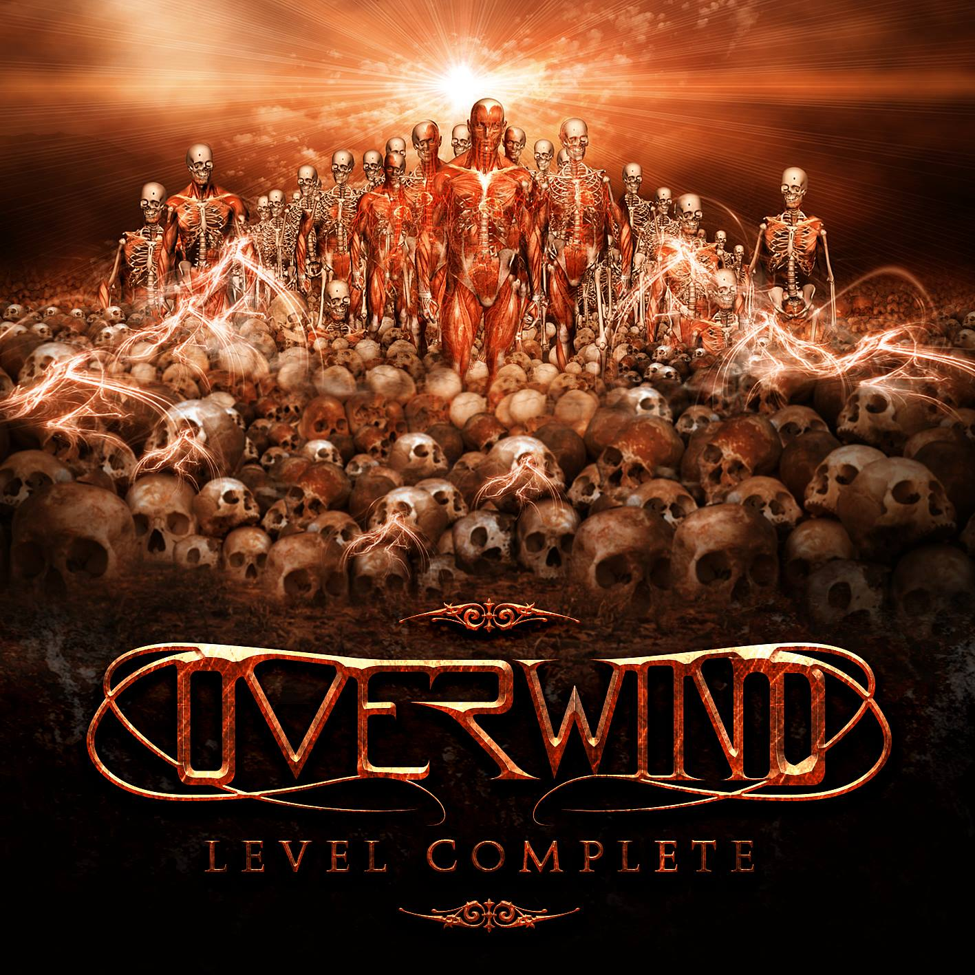 OVERWIND signs with POWER PROG